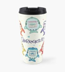 Sharkagotchi: 6 Species of Digital Pets! Travel Mug