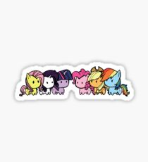 pony group Sticker