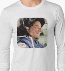 NASA Astronaut Sally Ride Long Sleeve T-Shirt