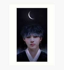 Lámina artística 180309 Feliz cumpleaños Yoongi