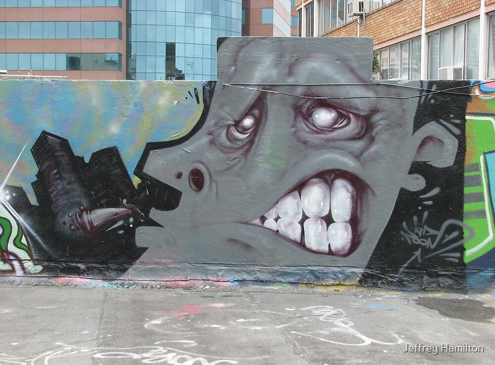 Grey Face by Jeffrey Hamilton