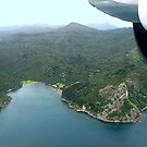 Blind Bay from the air - Great Barrier Island......!! by Roy  Massicks