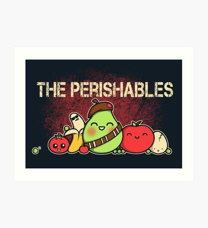 The Perishables Art Print