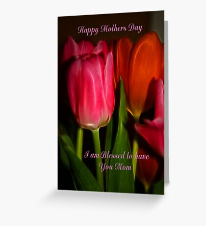 Mothers Day Card Greeting Card