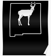 Hunting Wild Antelope New Mexico Big Game Hunt Poster