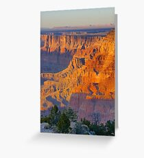 Sun on the Walls Greeting Card