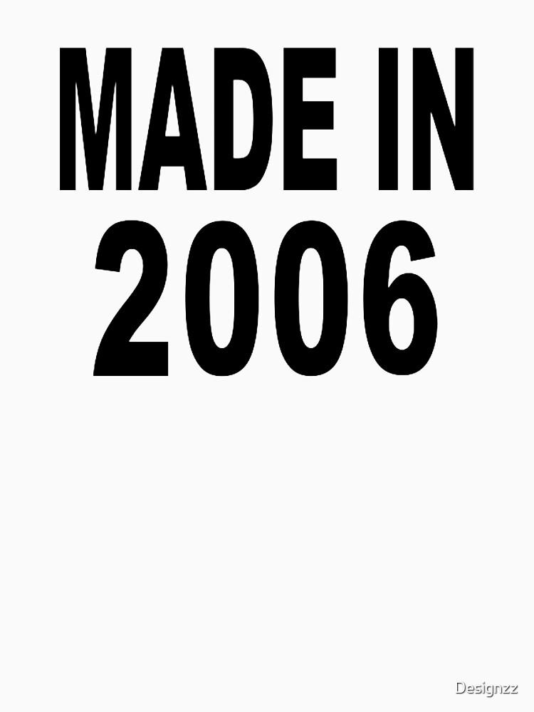 Hergestellt im Jahr 2006 von Designzz