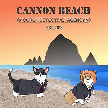 CBCDA - FBI Agents Fox Mulder & Dana Scully  by PortlandCorgi