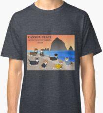 Welcome to the CBCDA - Cannon Beach Corgi Detective Agency Classic T-Shirt