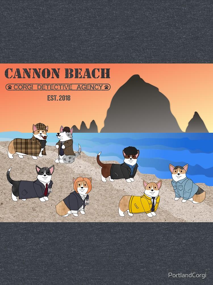 Welcome to the CBCDA - Cannon Beach Corgi Detective Agency by PortlandCorgi