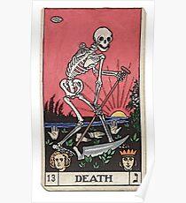 Todes Tarot Poster