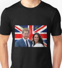HRH Prince Harry and Meghan Markle Royal Wedding at Windsor Castle 19th May 2018 Unisex T-Shirt