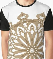 Painted Royal Mandala Graphic T-Shirt