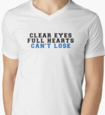 clear eyes, full hearts, can't lose (2) Men's V-Neck T-Shirt