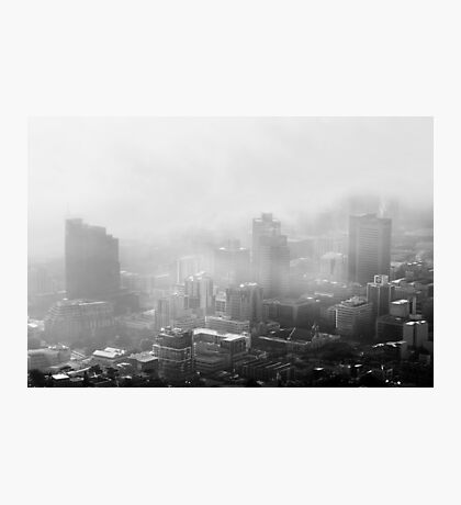 My City in the Clouds Photographic Print