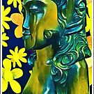 Goddess With Yellow Flowers by DesJardins