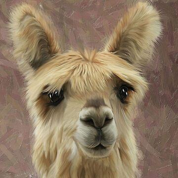 Suri Alpaca baby by CazzieCreations
