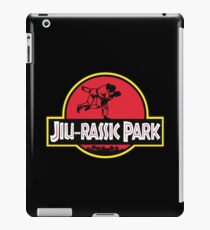 JIU-RASSIC PARK - For BJJ And Jiu Jitsu Fans iPad Case/Skin