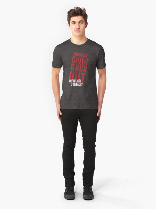 Alternate view of Can't Back Out Slim Fit T-Shirt