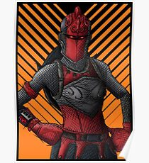 Fortnite Red Knight Posters Redbubble