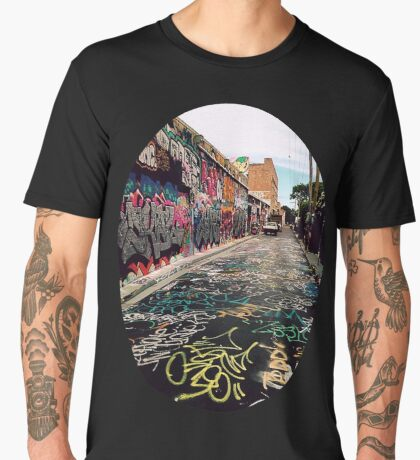 Graffiti street Sydney Men's Premium T-Shirt