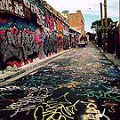 Graffiti street Sydney by elee
