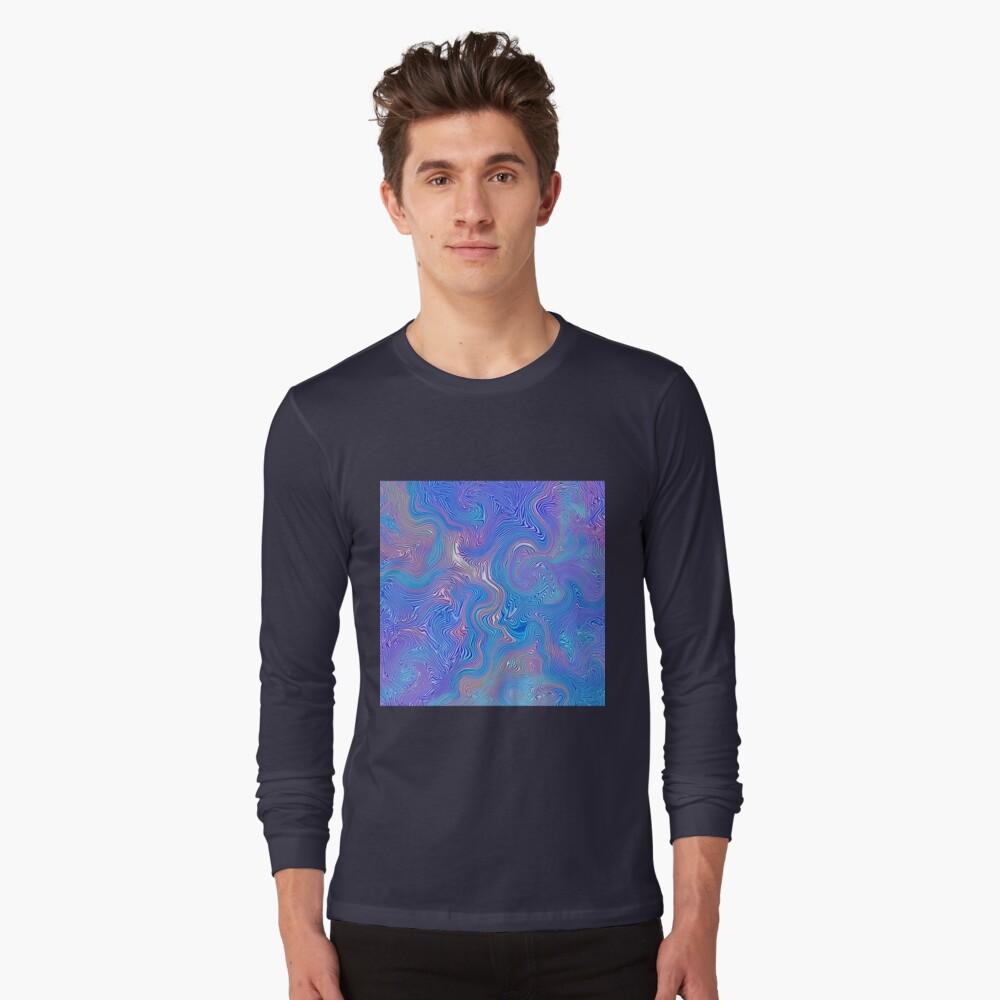 Textured Sky Long Sleeve T-Shirt
