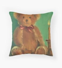 Ted E. Bear Throw Pillow