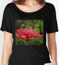 Waratah - A Symbol of Australia in Spring Relaxed Fit T-Shirt