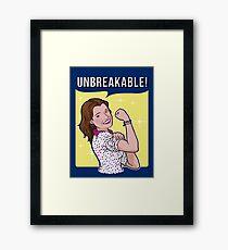 Unbreakable! Framed Print