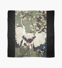 Favourite Artist - Plum Blossoms and Cranes - Ito Jakuchu Scarf