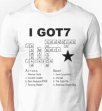GOT7 Crossword Puzzle T-Shirt