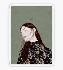 THE REVENGE ELENA GARNU Transparent Sticker