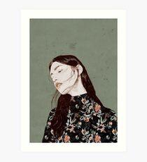 THE REVENGE ELENA GARNU Art Print