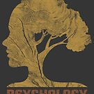 Psychology Symbol Cool Graphic Human Tree by superdazzle