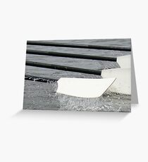 Rowing Oar Greeting Card