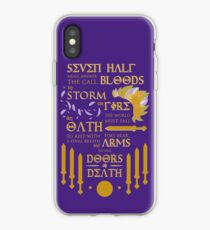 The Prophecy of Seven iPhone Case
