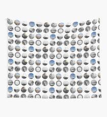 London Snapshots Wall Tapestry