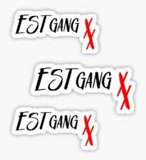MGK- ESTgang  Sticker
