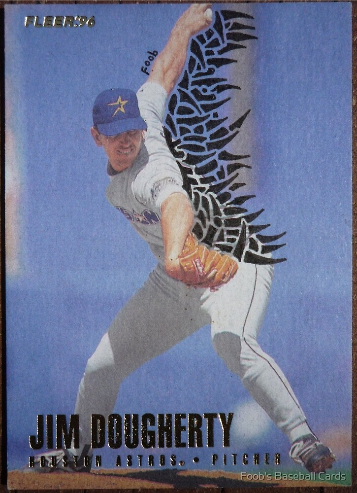 032 - Jack Dougherty by Foob's Baseball Cards