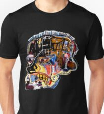 Basquiat Skull sticker Unisex T-Shirt