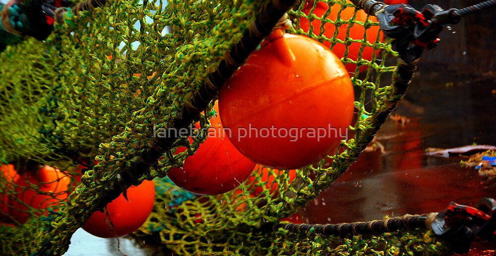 Pieces of a Commercial Fishing Vessel #3 by lanebrain photography