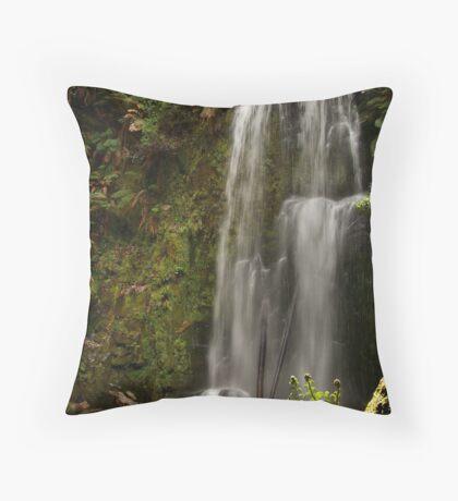 Beauchamp Falls Otways Throw Pillow