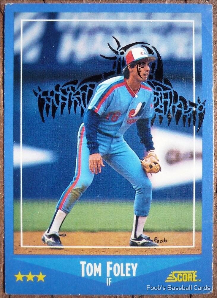 036 - Tim Foley by Foob's Baseball Cards