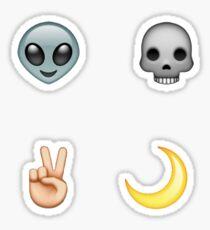 COOL AF // Emoji Set Sticker