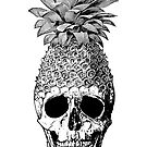 Pineapplehead (Black&White) by stieven