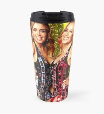 Kylie Minogue & Dannii Minogue - 100 Degrees Summer Of Pride  Travel Mug