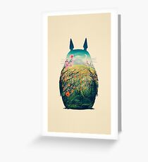 Tonari Kein Totoro Grußkarte