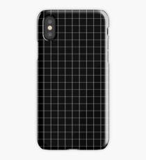 BLACK GRID PHONE CASE iPhone Case/Skin