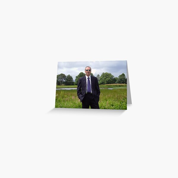 Suited  and  Booted Greeting Card